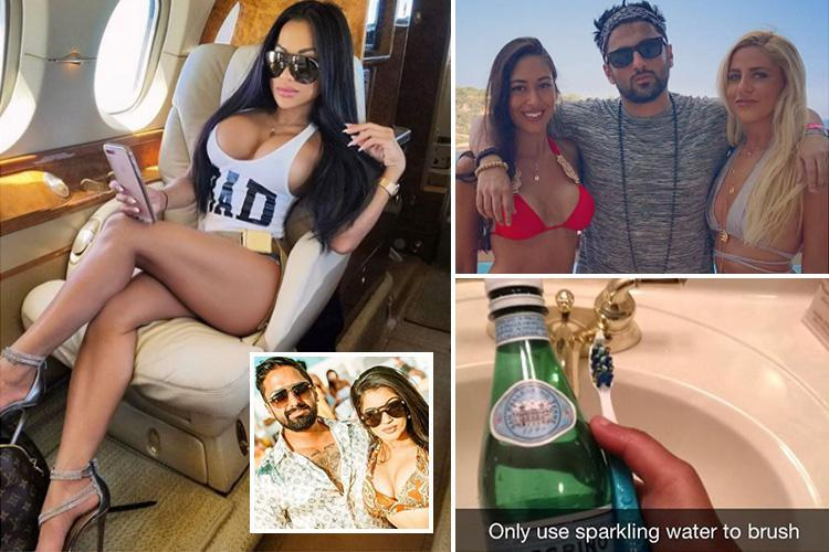 Rich Kids Brush Their Teeth With San Pellegrino As They Jet Off On Their Glam Summer Holidays photo