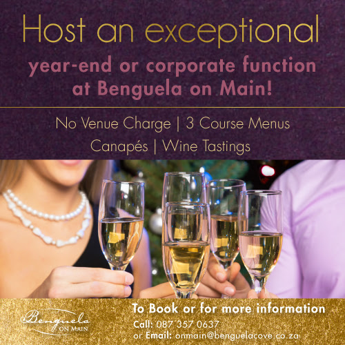 Celebrate the end of the year in style at Benguela on Main photo