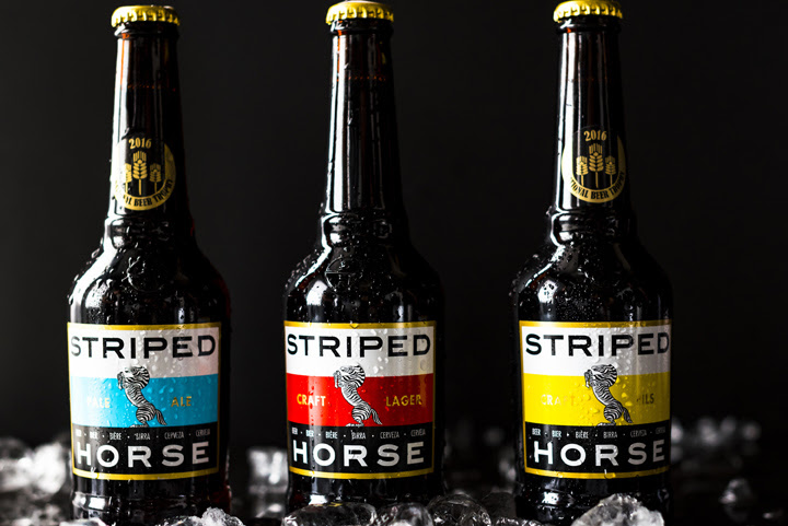 Striped Horse Beer launches its bespoke new Giraffe Bottle photo