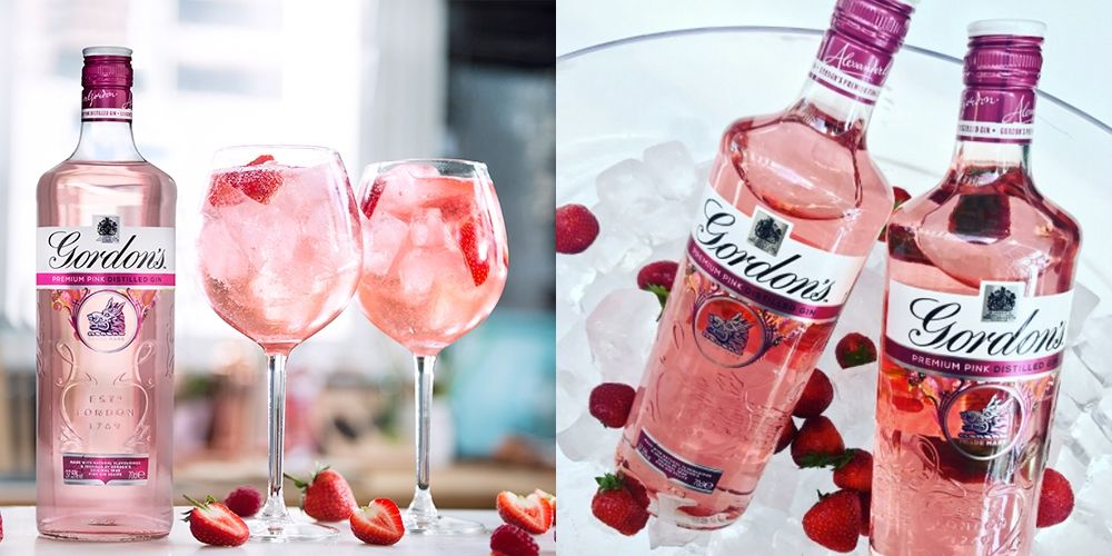 Gordon's Just Released Pink Gin And Your G&ts Just Got A Whole Lot Sassier photo