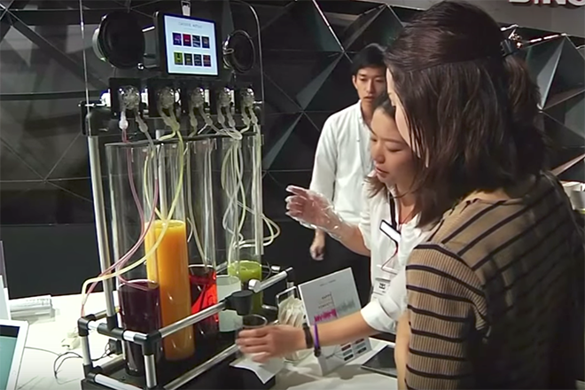 This juice machine uses music to make your drinks photo