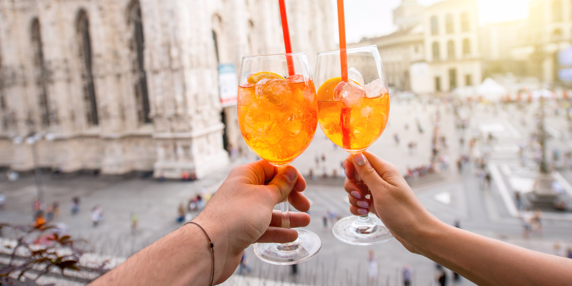 Lidl Is Selling A Drink Almost Identical To Aperol ? Called 'bitterol' ? For Half The Price Of The Real Thing photo