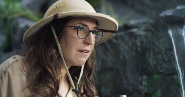 Mayim Bialik And Sodastream Study The Primitive 'homoschlepiens' And Their Bottled Water photo