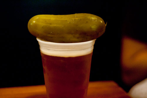 Why you should add a pickle to your next beer photo
