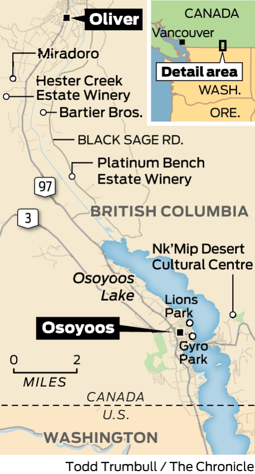 One Day, One Place: Oliver Osoyoos Wine Country, B.c. photo