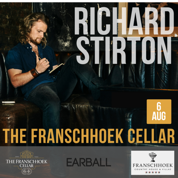 Catch Richard Stirton live at The Franschhoek Cellar photo