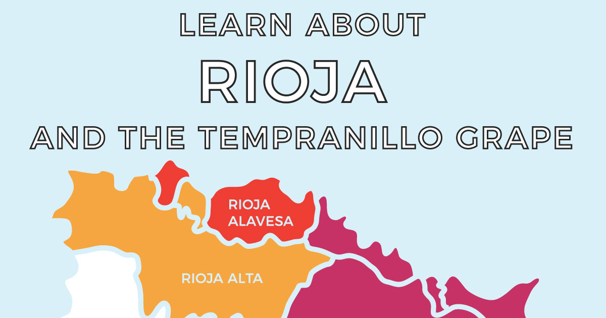 The Complete Guide To Rioja And The Tempranillo Grape [infographic] photo