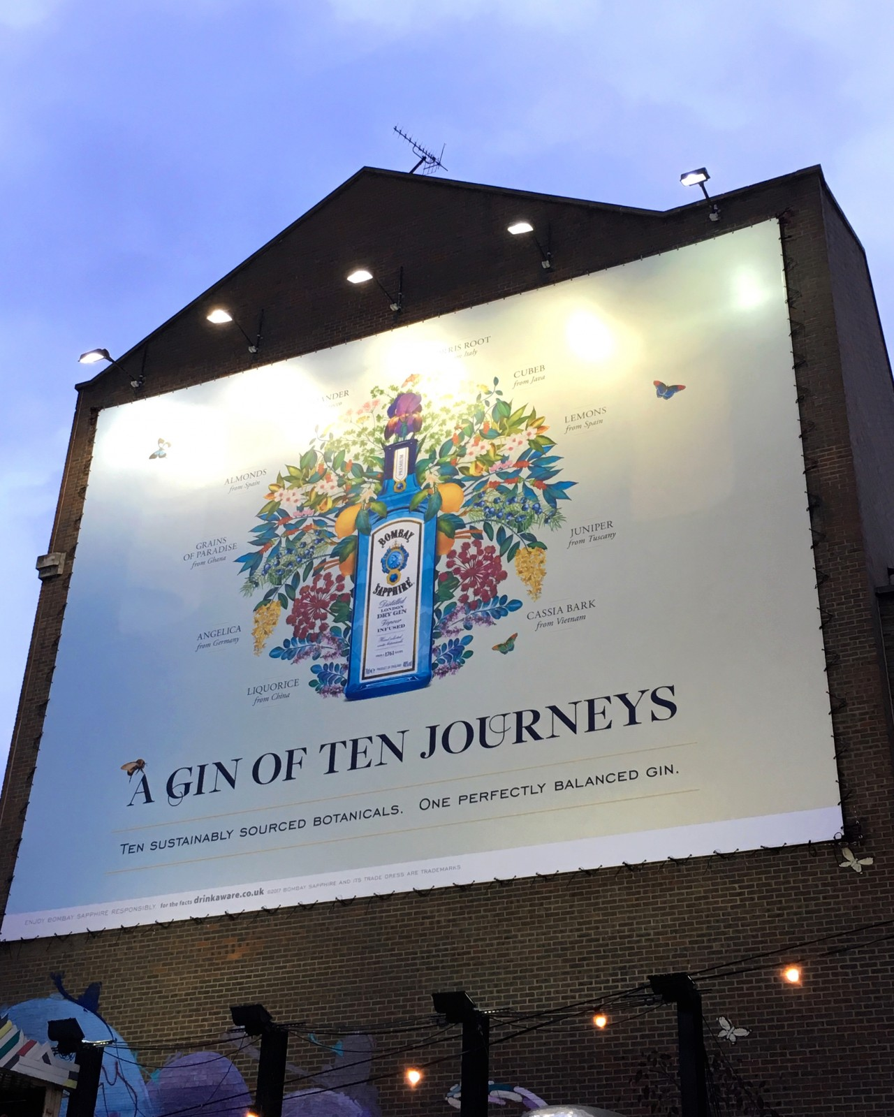 Amv Bbdo: A Gin Of Ten Journeys: Bombay Sapphire X Mariana Rodrigues By Jelly London photo