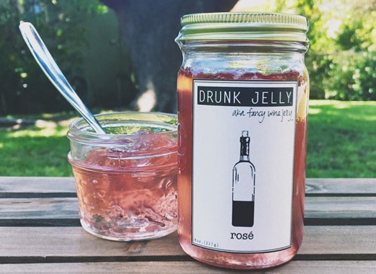 Forget Lugging Bottles Around, Rosé Jelly Is The Only Thing We Need This Summer photo