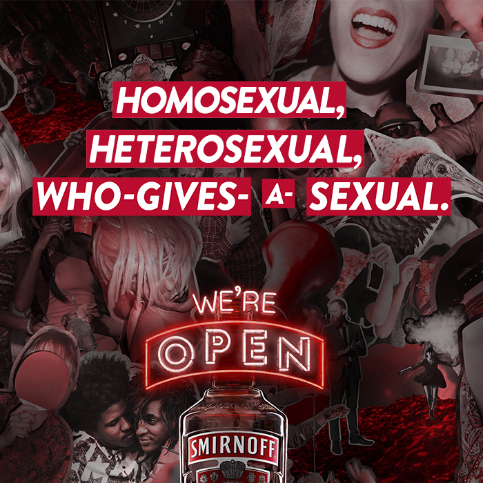 Smirnoff Fights Online Trolling With Pride Festival Campaign photo