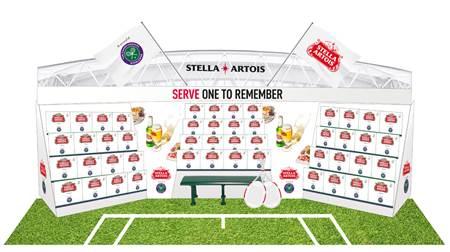 Wimbledon Sponsorship For Stella Artois photo