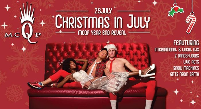 Win tickets to the MCQP Christmas in July party photo