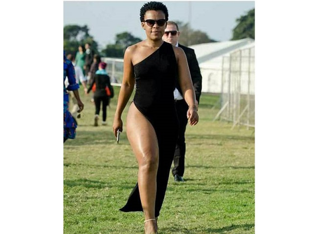 Zodwa Wabantu Hogs Limelight At Durban July photo