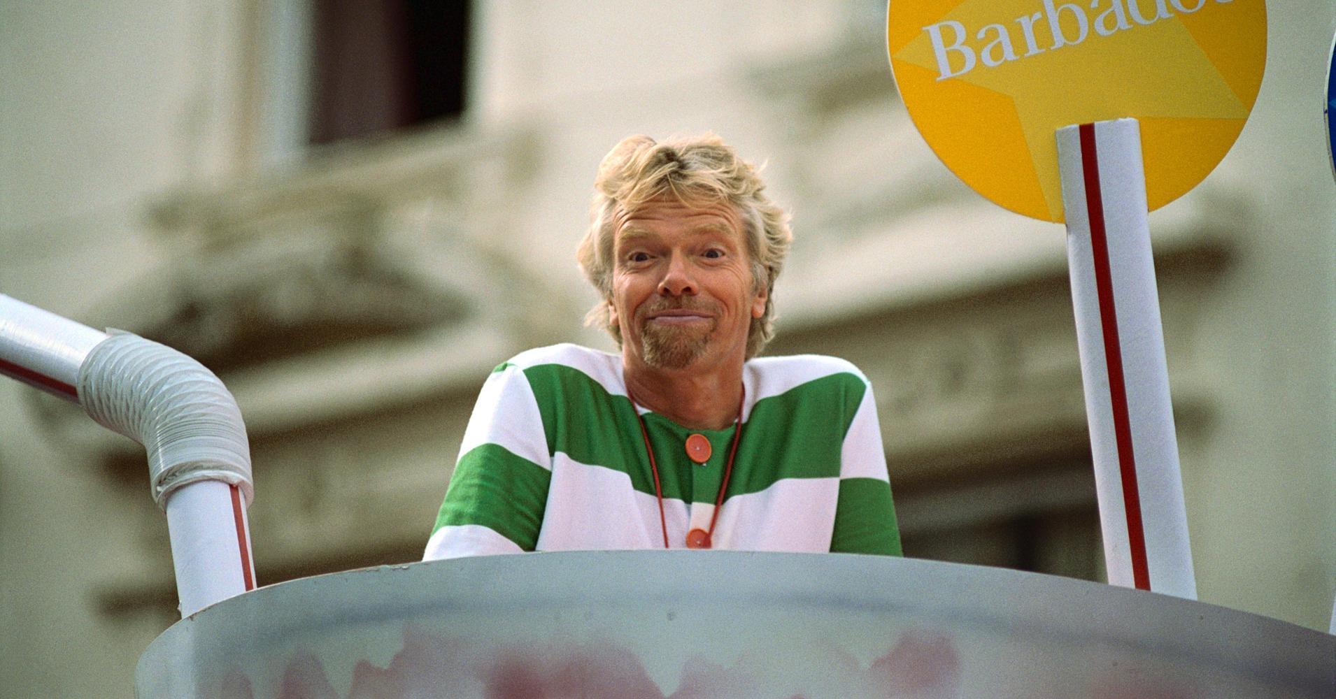 Richard Branson Drinks 20 Cups Of Tea A Day photo