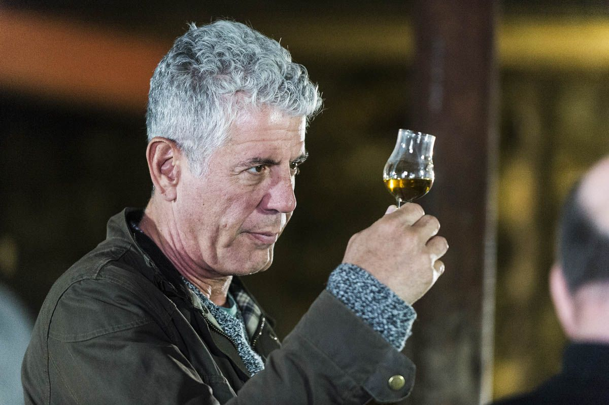 So, Anthony Bourdain Doesn't Care How You Drink Your Scotch photo