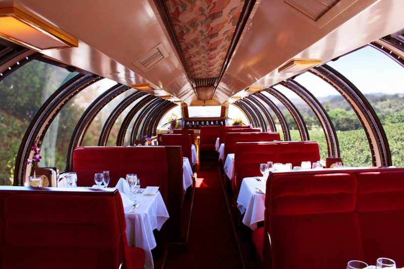 This Wine Train Takes You Through America's Top Vineyards photo
