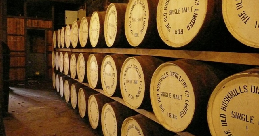 'whiskey Galore' As £90m Worth Of Bushmills Currently Maturing photo