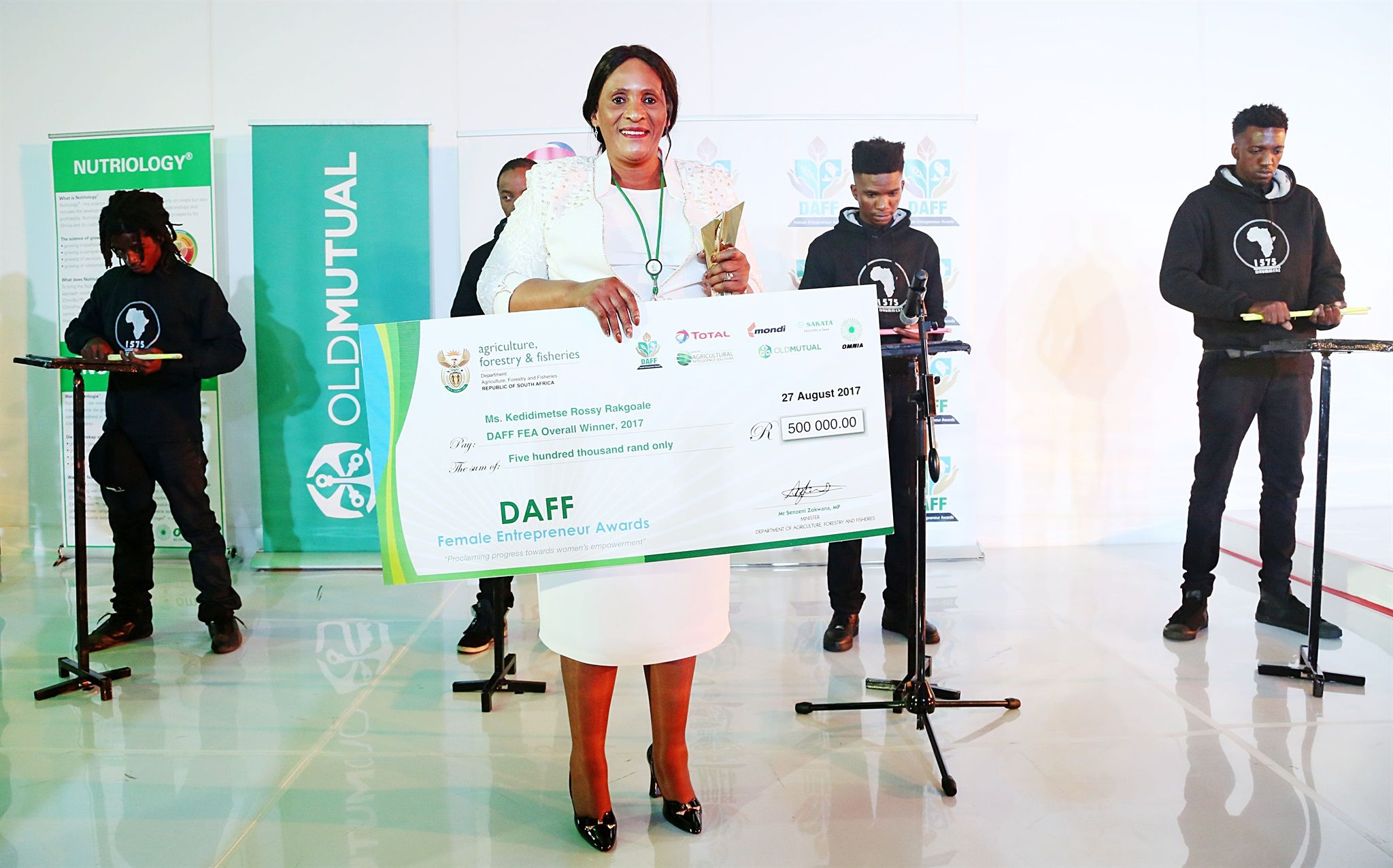 Daff Awards Top Female Entrepreneurs In Agriculture, Forestry And Fisheries photo