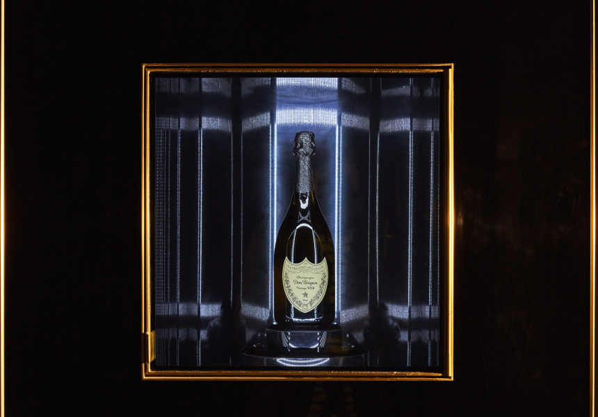 "Vue De Monde's New ""illuminator"" Is The World's First Dom Pérignon Dispenser photo"