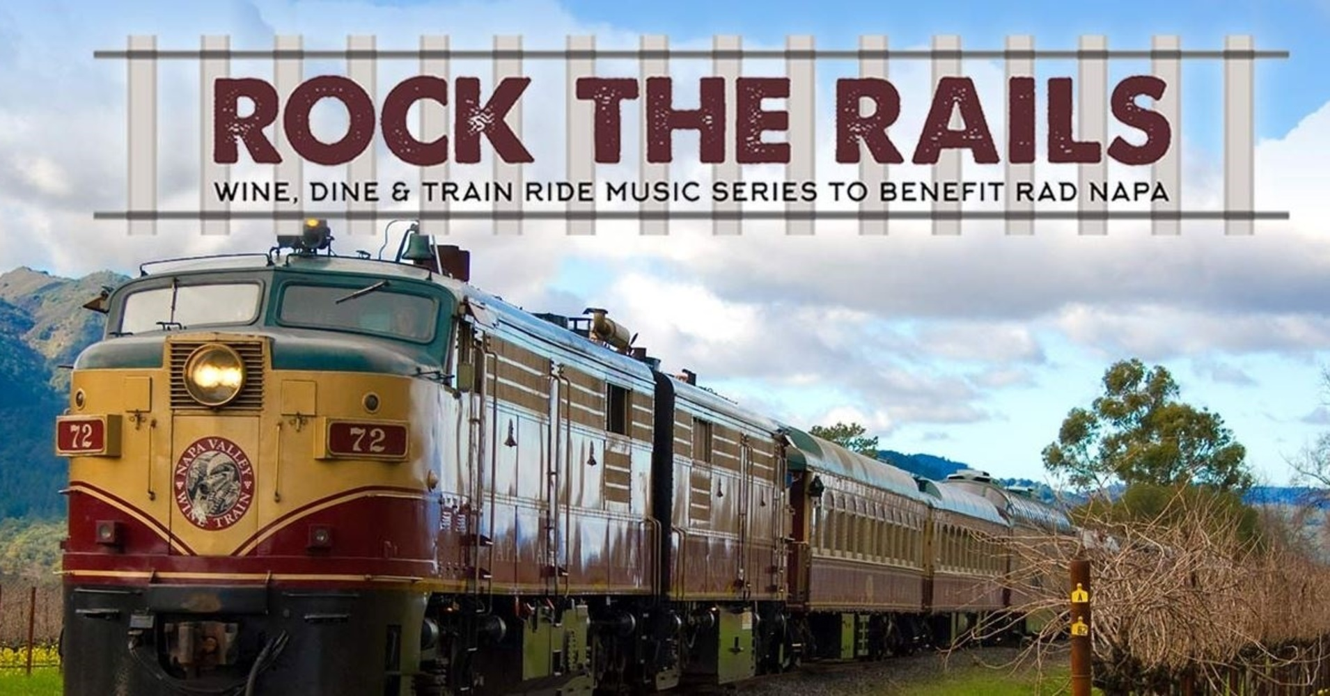 Napa Valley Wine Train Set To Rock The Rails Benefit To Support Rail Arts District photo