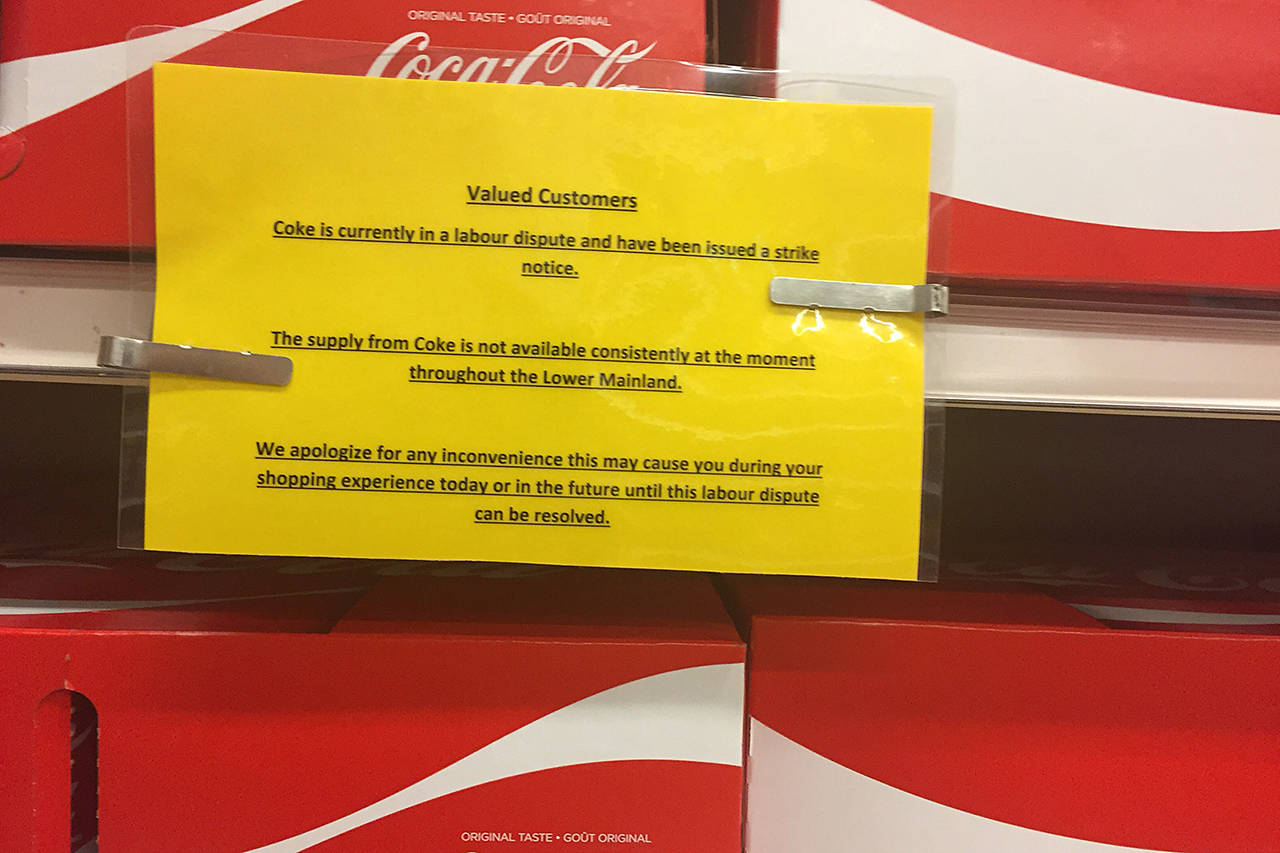 Coca-cola To Start Flowing As Striking Workers Reach Agreement photo