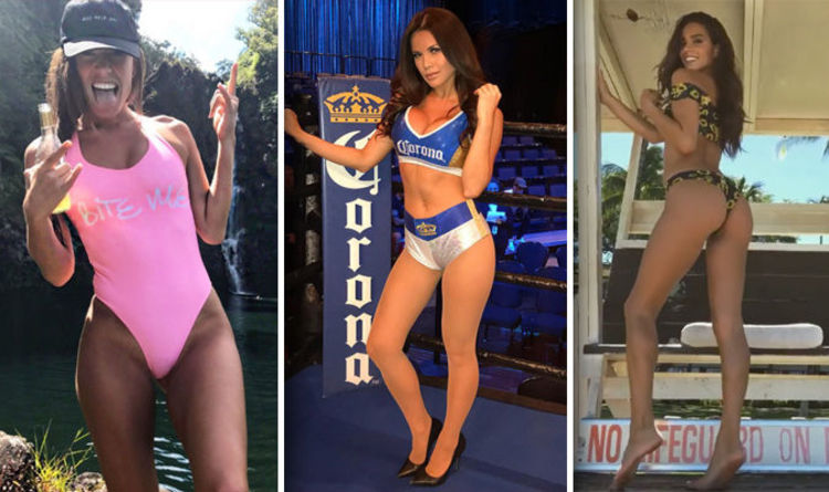 Mcgregor Mayweather Ring Girls: Meet The Stunning Corona Ring Girls Ahead Of The Big Fight photo