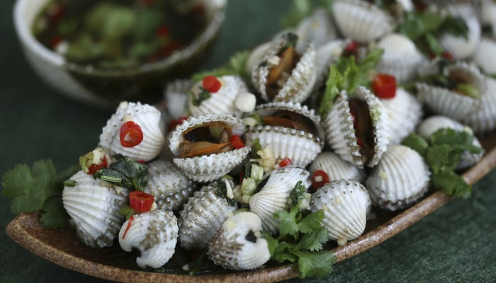 Susan Jung's Recipe For Chiu Chow-style Marinated Cockles photo