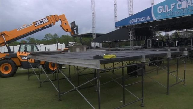 Pepsi Gulf Coast Jam Preparations Underway photo