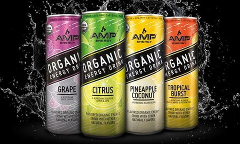 Amp Energy Launches Organic Energy Drinks Answering Consumer Call For Simpler Ingredients photo