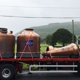 Aber Falls Distillery Prepares To Start Production photo