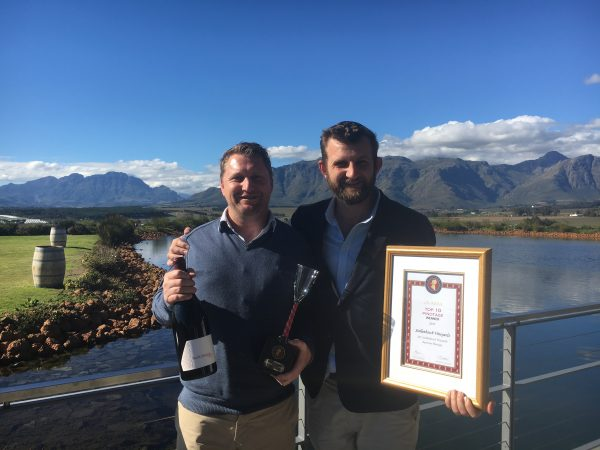Stellenbosch Vineyards Bushvine Pinotage 2015 makes the ABSA Top 10 Pinotage List photo