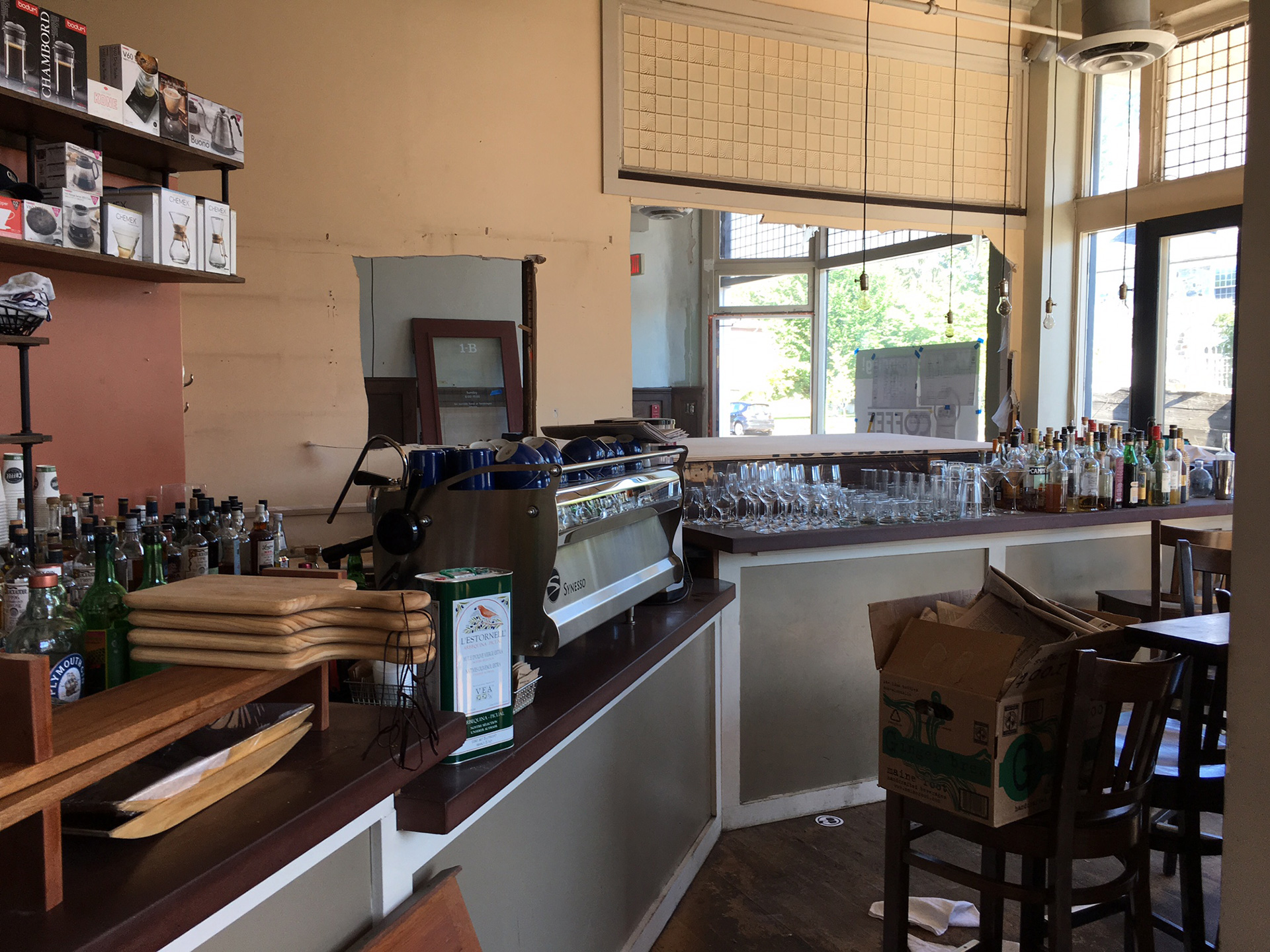 Build-outs Of Summer: Amherst Coffee In Amherst, Ma photo