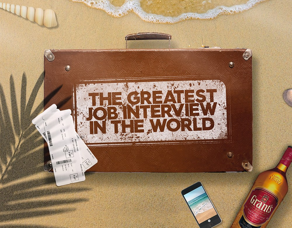 Best Job Interview Ever: Grant's Whisky Is Sending Applicants On A 10 Day Trip Around The World photo