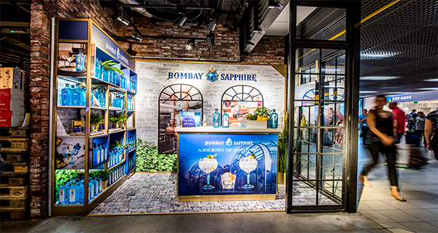 Shoppers Invited To Discover Bombay Sapphire At Amsterdam Schiphol photo