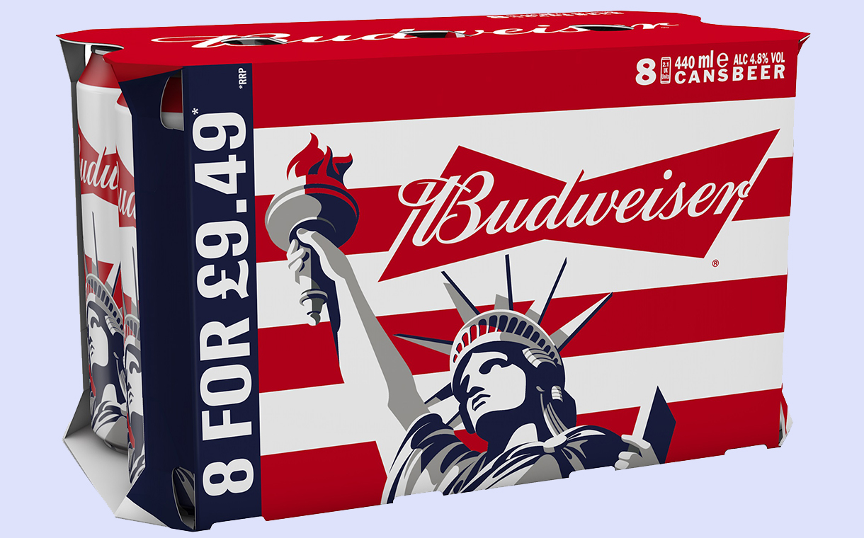 Budweiser Launches Limited Cans To Toast The 'freedom Of Summer' photo