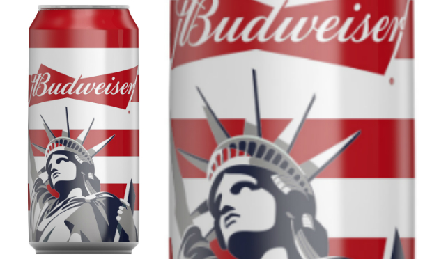 Limited Edition Budweiser 'liberty Can' Launches photo