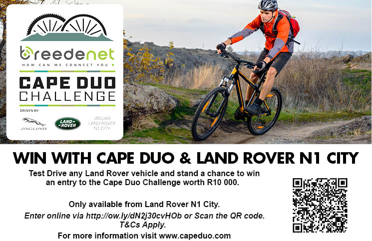 Win With Cape Duo Challenge And Land Rover N1 City photo