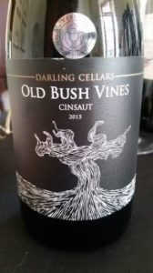 Darling Cellars Old Bush Vine Cinsaut 2015 photo