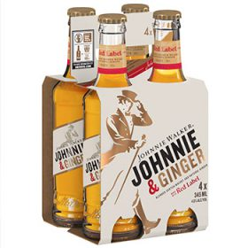 Johnnie Walker Releases Whisky And Ginger Ale RTD photo