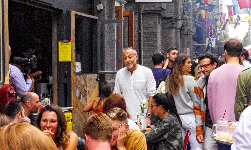 Le Gavroche Celebrates 50th Birthday With Little Bird Gin At Maltby Street Market photo