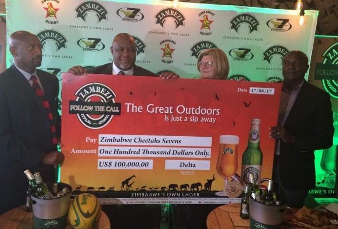 Zambezi Lager Boost For Cheetahs photo