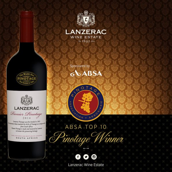 Lanzerac delivers a stellar performance at the 2017 Absa Top 10 Pinotage Competition photo