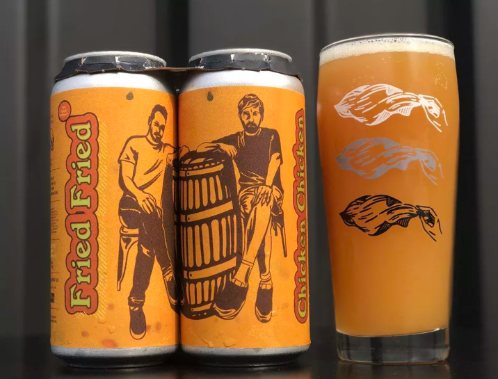 US brewery creates fried chicken beer photo