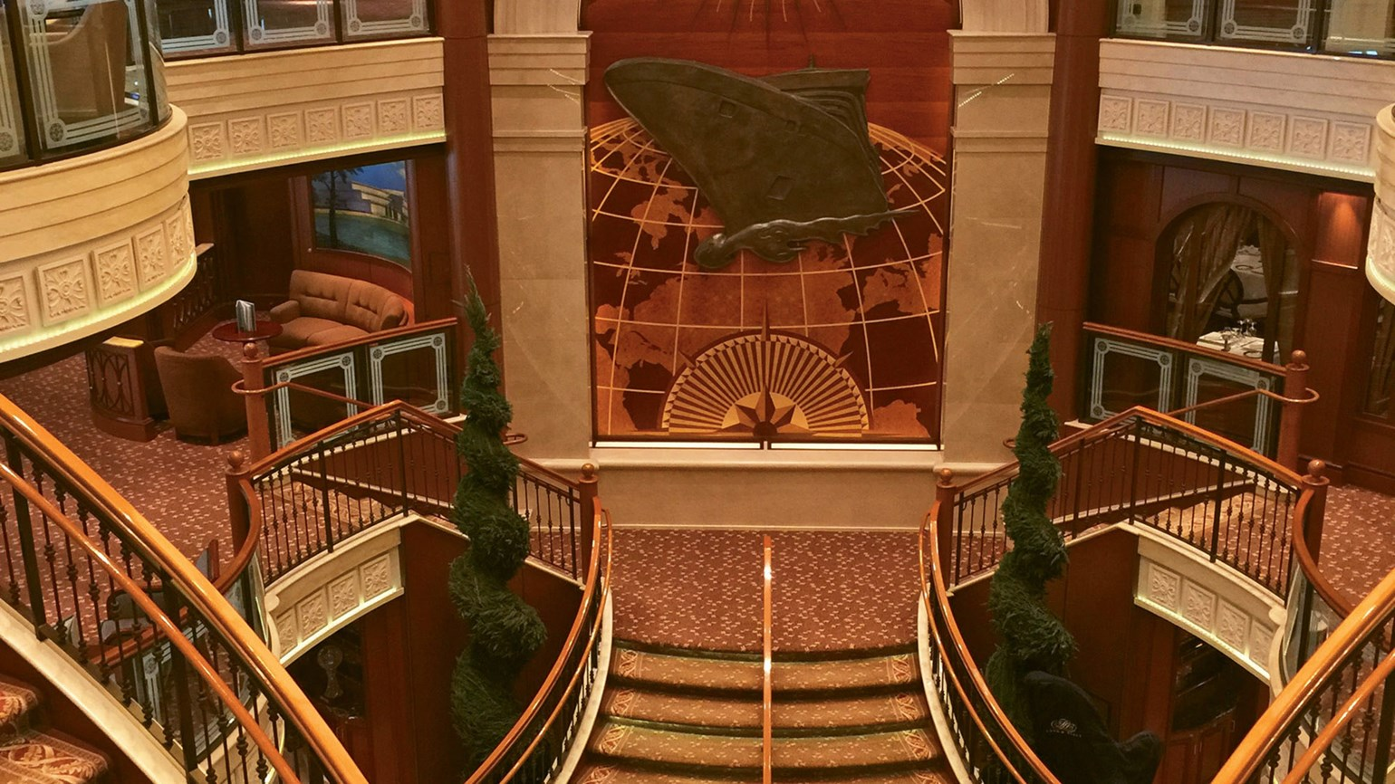 Cunard's Regal Revamp Of The Queen Victoria: Travel Weekly photo