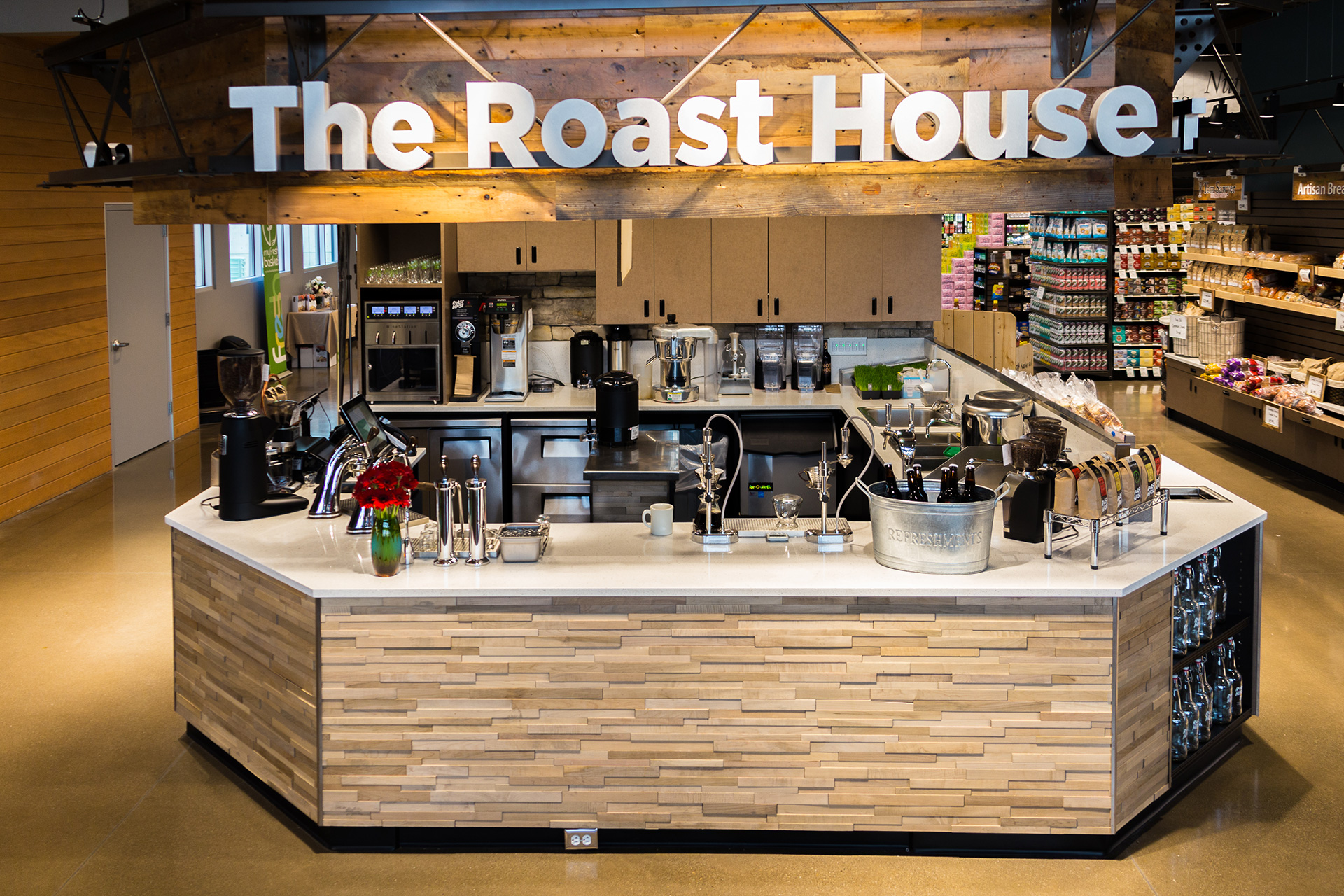 Build-outs Of Summer: The Roast House In Spokane, Wa photo