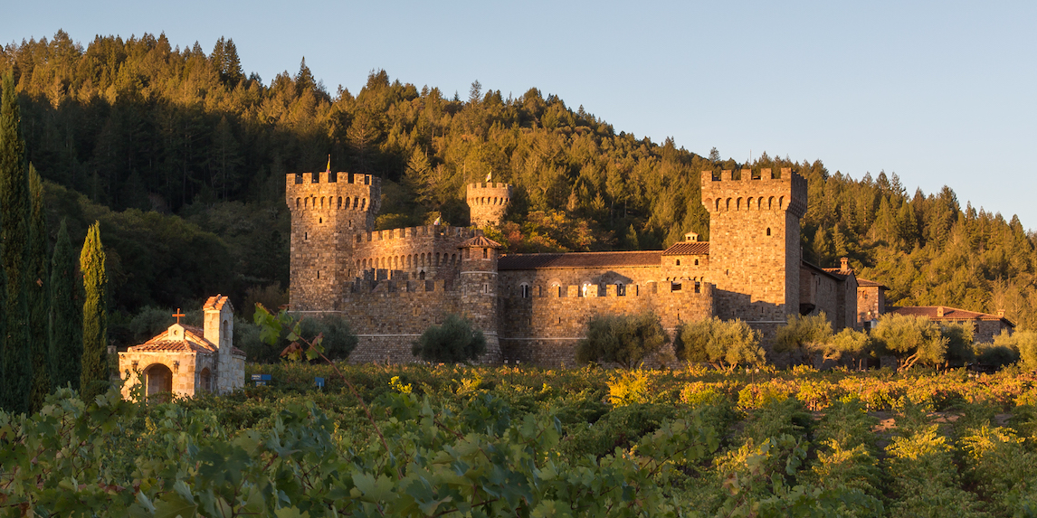 A California Millionaire Built A Massive '13th-century Italian Castle' In The Middle Of Wine Country ? Take A Look Inside photo