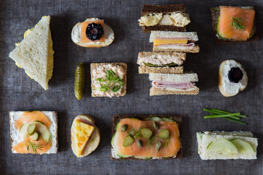 Hosting A #womensmonth High Tea? Here's How To Assemble The Sandwiches photo