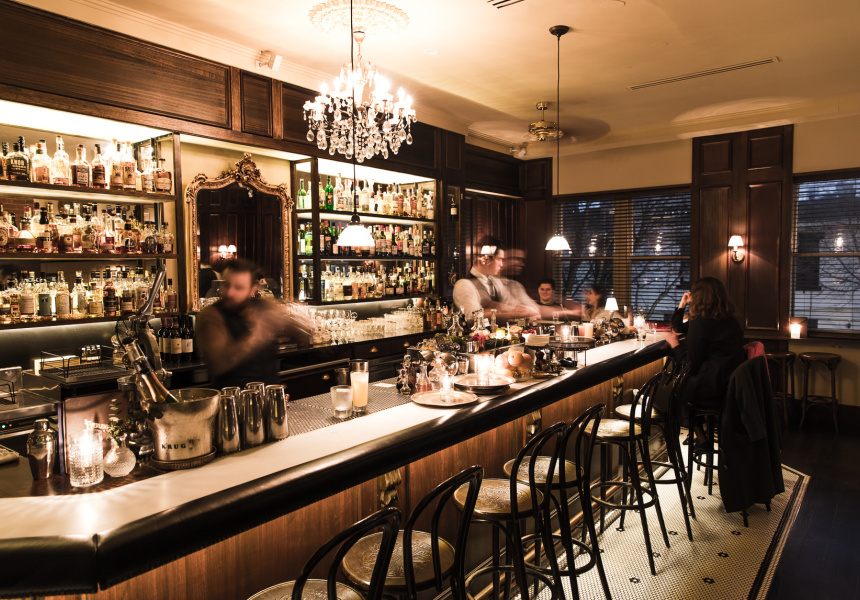 Take A Trip Back In Time With The Everleigh's New Vintage Spirits Menu photo