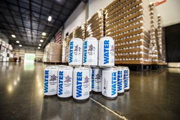 Budweiser Delivers Thousands Of Cans Of Water To Hurricane Harvey-ravaged Texas photo