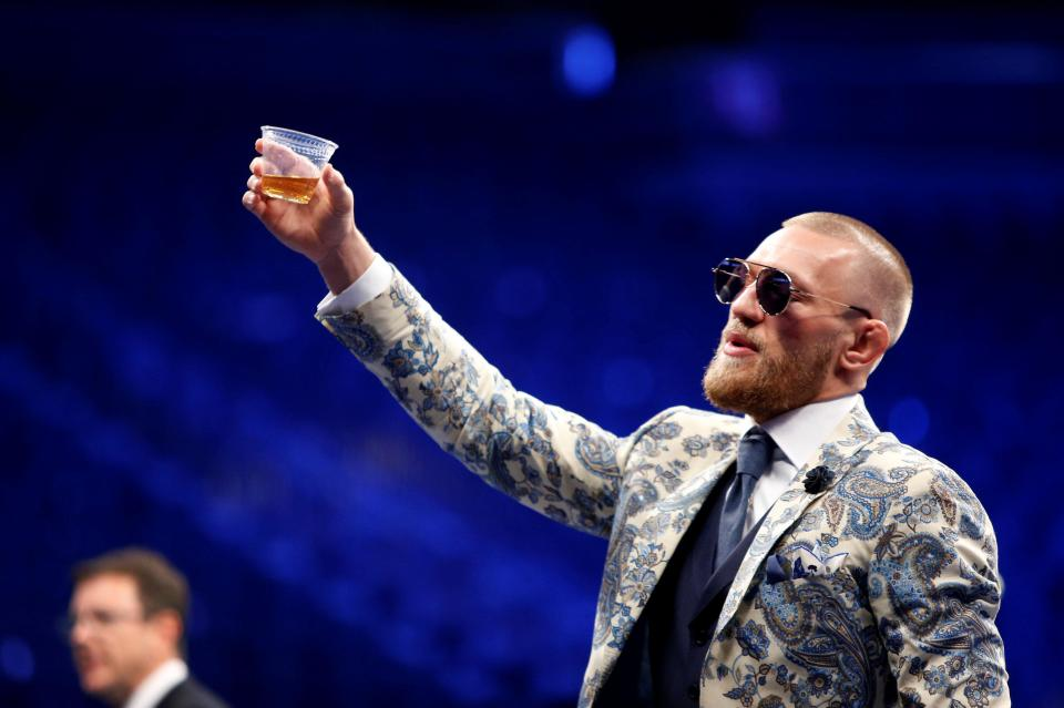 cheers on conor mcgregor Conor McGregor ready to cash in with his Notorious whiskey
